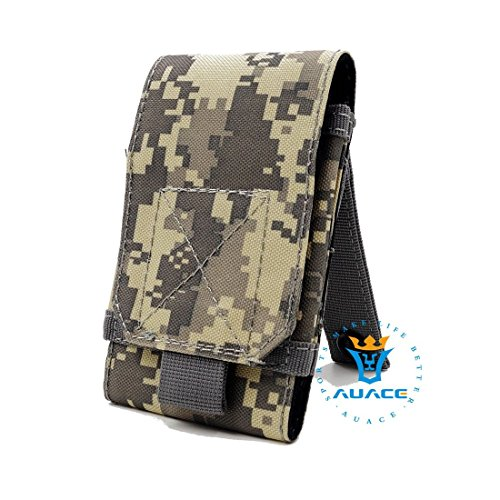 Multifunktions Survival Gear Tactical Beutel MOLLE Beutel Handytasche, Outdoor Camping Tragbare Tasche Handtaschen Taille Tasche Werkzeugtasche Travel Handytasche ACU