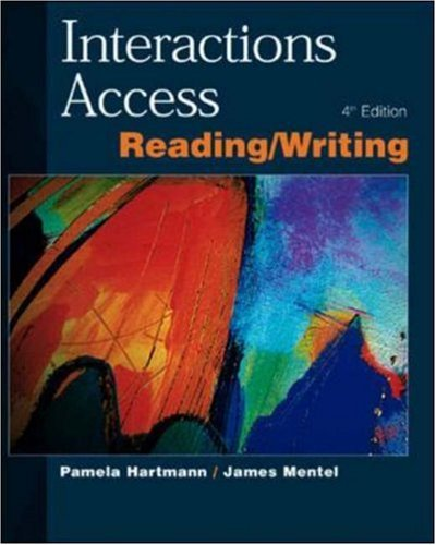 Interactions Access: Student Book: Reading and Writing PDF Books