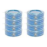 Signstek Nachfüllkassetten für Angelcare Windeleimer Verbesserung Version, stechenden Geruch versperren (8 Stk)