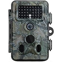 Caméra de Chasse VTIN Caméra de Jeu Nocturne Infrarouge Caméra de Surveillance Imperméable IP66 Étanche 12MP 1080P HD