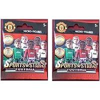 Character Building Man United Football Micro Figures - 2 Packs Sent
