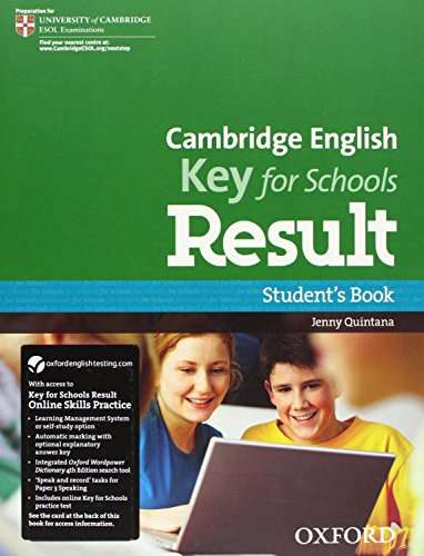 Cambridge English: Key for Schools Result: KET Result