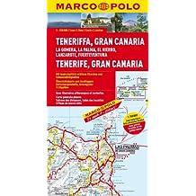 Teneriffa Karte Spanien.Suchergebnis Auf Amazon De Für Marco Polo Kanarische Inseln