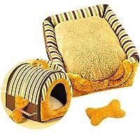 YSYPET Casa para Mascotas 2 en 1 y sofá portátil Antideslizante para Perros, Gatos,