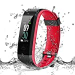 Fablino Fitness Tracker With Heart Rate Monitor IP68 Waterproof Activity Tracker