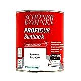 0,75L Schöner Wohnen Profidur Buntlack weiss hg Weisslack Weißlack