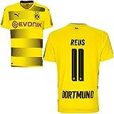 Camiseta Puma del Borussia Dortmund Trikot (de local) 2017-2018, con nombre de jugador, hombre,...