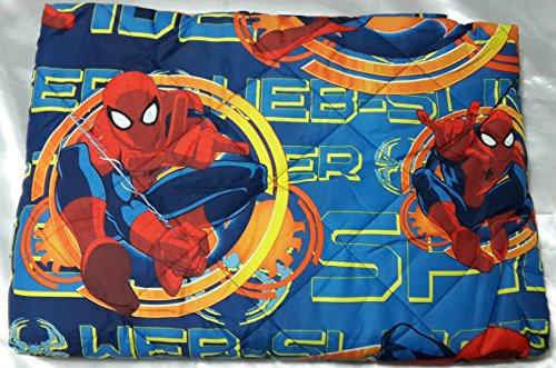Trapuntino spiderman marvel web spider di novia singolo una piazza p006