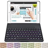 Best Accessory Power Backlit Keyboards - Durwyn Ipad Pro 10.5 Bluetooth Keyboard Case For Review