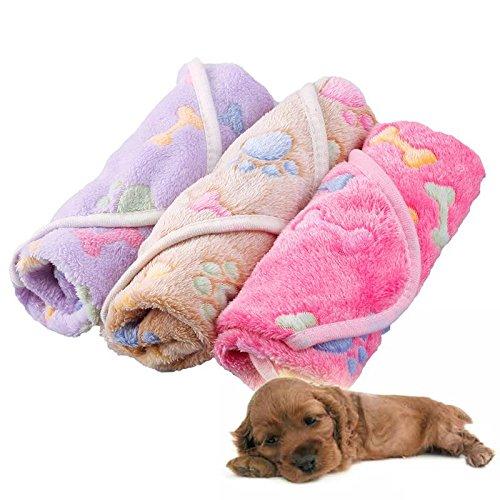 Alfombrilla tipo manta Zhuotop, impermeable, resistente a las manchas, para mascotas, con patrón de...