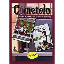 Caja Cómetelo: Edición especial para regalo, 2 libros (Gastronomía y Salud)