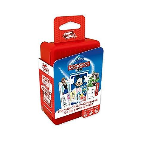 ASS Altenburger 22502215 - Shuffle - Kartenspiel Disney Monopoly Deal