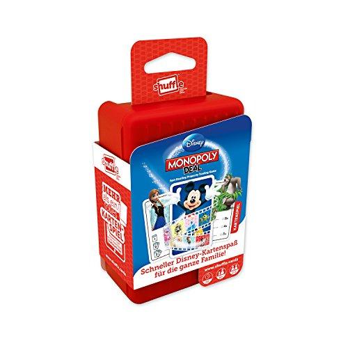 ASS Altenburger 22502215 - Shuffle - Disney Monopoly Deal, Kartenspiel (Play-doh-brettspiel)