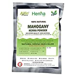 Mahogany Henna Hair Color – 100% Organic and Chemical Free Henna for Hair Color Hair Care - ( 240 Gram = 4 Packet)