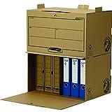 Bankers Box 4471101 Container Archivio Earth Series, FSC, Confezione da 5 Pezzi