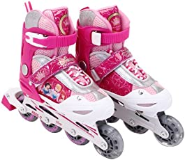 Mesuca Disney Princess Skate Set with Helmet (Pink)