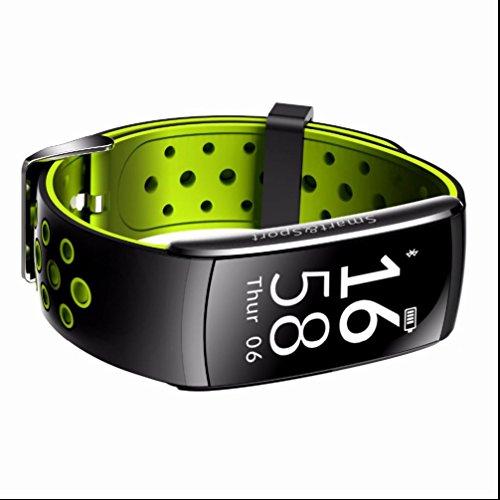 Herzfrequenz monitor ip68 wasserdicht schwimmen smart armband blutdruckmessung fitness tracker smart armband schrittzähler tragbar geräte armbanduhr