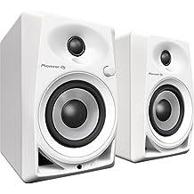 """Pioneer DM-40-W Color blanco altavoz - Altavoces (DJ, De 2 vías, Mesa/estante, Integrado, 1,91 cm (0.75""""), 10,2 cm (4""""))"""