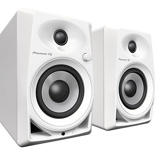 'Pioneer dm-40-w weiß Lautsprecher–Lautsprecher (DJ, 2-Wege, Tischplatte/Bücherregal, Eingebaut, 1,91cm (0.75