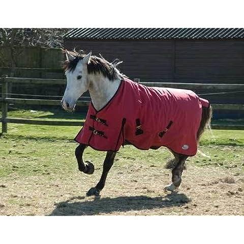 Rhinegold traspirante Konig da esterno per cavallo, Coperta per cavallo, Red, 5 3