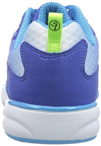 Zumba Footwear Zumba Energy Fuze, Chaussures de Fitness Femme Bleu - Blau (Royal/Capri)