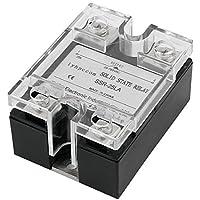input DealMux 4-20 mA AC 28-280V 25A saída Uma fase Relé de Estado Sólido com tampa