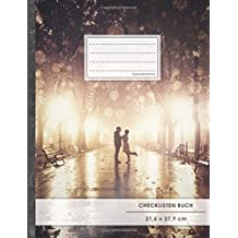 """Checklisten-Buch: DIN A4 • 70+ Seiten, Softcover, Register, """"Romantisch"""" • #GoodMemos • 18 Checkboxen + Platz für Notizen/Seite (inkl. Register mit Datum uvm.)"""