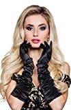 Boland 03140 - Handschuhe Hollywood, Einheitsgröße, schwarz