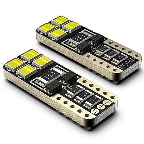 Bombillas LED Coche T10 W5W 6000K SEALIGHT