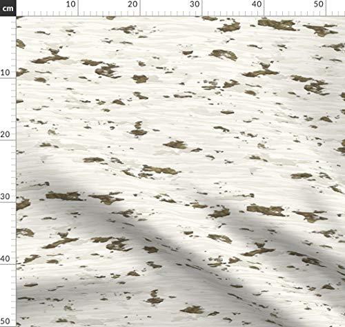 Birke, Baumrinde, Baum, Holz, Korn, Natur Stoffe - Individuell Bedruckt von Spoonflower - Design von Animotaxis Gedruckt auf Bio Baumwoll Interlock-Jersey -