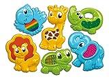Animali Tocca E Impara - Clementoni Questi dolci animaletti in plastica colorata sono pensati per stimolare lo sviluppo sensoriale dei più piccoli, grazie agli inserti in tessuto con texture e superfici varie. Con colori brillanti e vivaci. S...