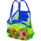 Bramble Set mit 1 Netzstoff Strandtasche - Perfekt für Strandspielzeug/Handtücher usw. - Ideal für das Schwimmbad - Große Tasche für den Sommerurlaub