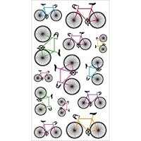 Sticko Scrapbooking Stickers, Colorful Bicycles