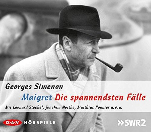 Maigret - Die spannendsten Fälle: Hörspiele mit Leonard Steckel, Joachim Nottke, Matthias Ponnier u.v.a. (5 CDs)