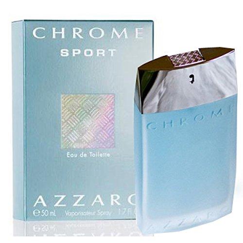 LORIS AZZARO Chrome Sport Men EDT, 1er Pack (1 x 50 ml)