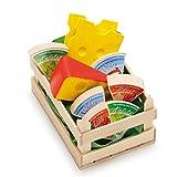 Erzi Pretend Play Holz-Lebensmittel-Ware, Sortiert, klein
