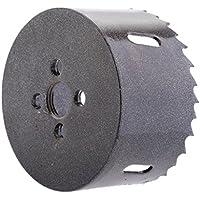 12tlg HM Hartmetall Lochsäge Bohrkrone Kreisschneider 15mm-50mm für Edelstahl DE