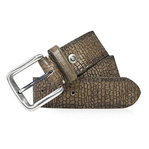b.belt BB0451L39-623 Leder-Gürtel Cognac Braun, Länge:85 cm (Rag Und Bone Herren)