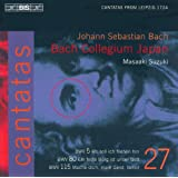 Bach, J.S.: Cantatas, Vol. 27 - Bwv 5, 80, 115