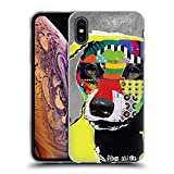 Head Case Designs Offizielle Michel Keck Dachshund Hunde 4 Soft Gel Hülle für iPhone XS Max