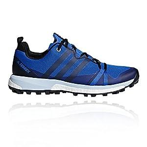 adidas Damen Terrex Agravic W Traillaufschuhe, blau, 43.3 EU