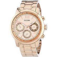 Guess W0330L2 - Reloj de pulsera para mujer, color blanco / plata