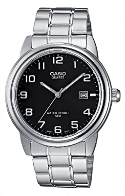 CASIO MTP1221A1AVEF - Reloj de caballero de cuarzo, correa de acero inoxidable color varios colores