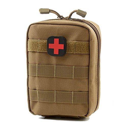 carlrbben Tactical MOLLE rip-Away EMT Medical Erste Hilfe ifak Utility Pouch (nur Tasche), braun