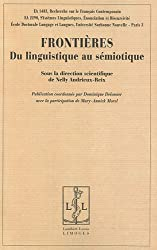 Frontières : Du linguistique au sémiotique