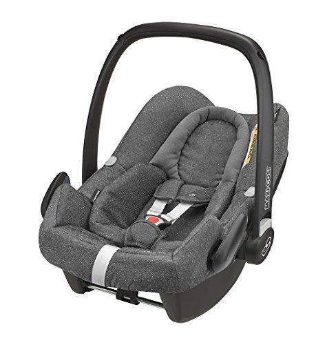 Preisvergleich Produktbild Maxi-Cosi Rock Babyschale, sicherer i-Size Kindersitz, Gruppe 0+ (0-13 kg), nutzbar ab der Geburt bis 12 Monate, Sparkling Grey