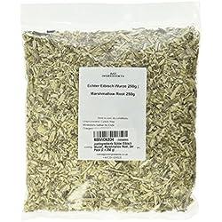 JustIngredients Echter Eibisch Wurzel, Marshmallow Root, 2er Pack (2 x 250 g)