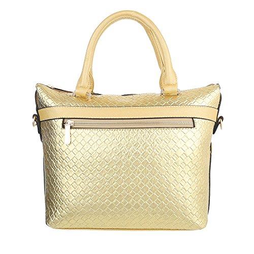 Taschen Handtasche Modell Nr.3 Gold