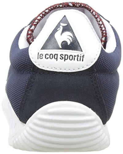 Le Coq Sportif Quartz, Basses Mixte Adulte Bleu (Dress Blue/Rouge Ruby Wine)