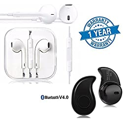 Captcha Huawei Nexus 6P Compatible Certified (2017 Edition) Headphones and Headset with Mic (1 Year Warranty)